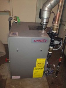 Lennox Central Air Conditioner Installation